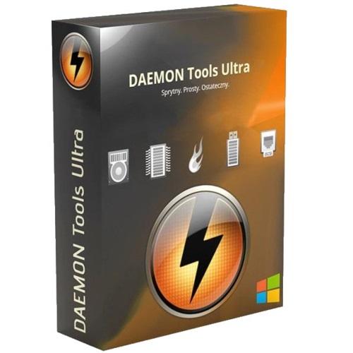 DAEMON Tools Ultra 6.1.0 Crack + License Key Free Download